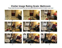 Bathroom - Clutter Image Rating