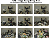 Living Room Clutter Image Rating